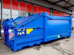 Presscontainer Abroller
